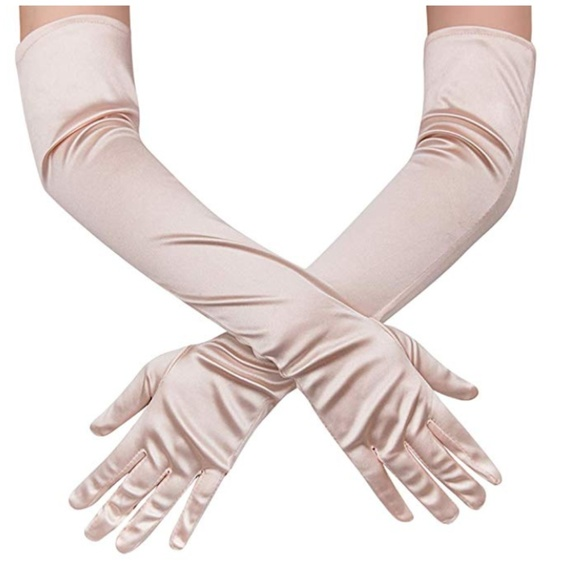 MYA Accessories - Bisque Satin Glove (OS)